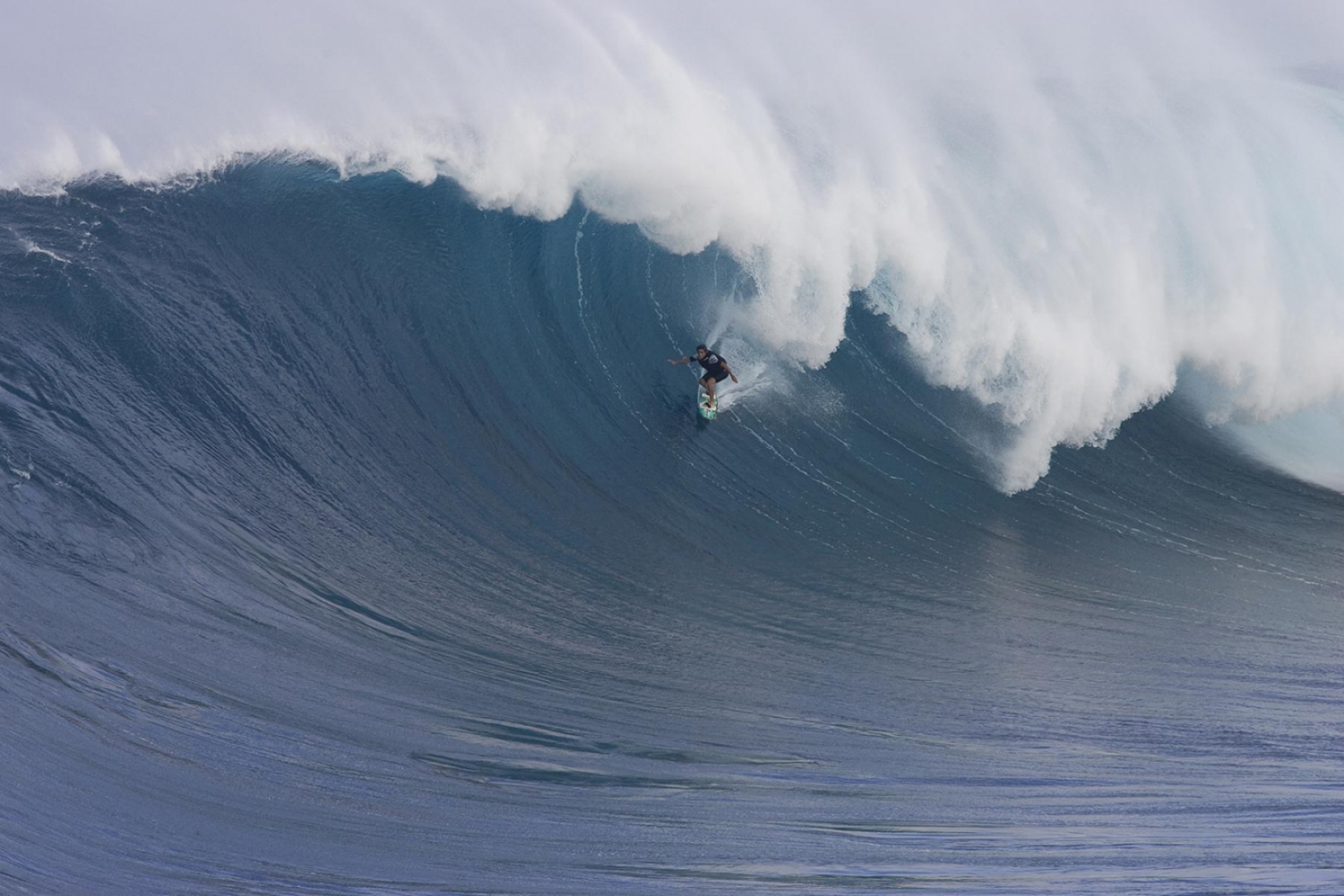 Billy Kemper, tow surf Jaws 2009